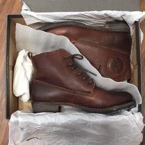 Blackstone Shoes - {Blackstone} Leather Lace Up Bootie
